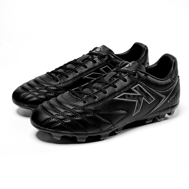 KELME卡尔美足球鞋男短钉AG人造草地比赛训练鞋子6871001   黑色、白黑金、荧光黄
