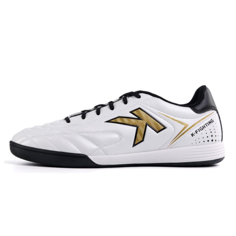 KELME卡尔美足球鞋男室内足球鞋平底运动鞋青少年训练鞋 6891146 白黑、 黑白、 黑色