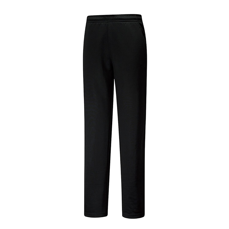 李宁中性长裤卫裤AKLRC01-1  黑色