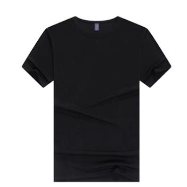TOURMARK 男女同款情侣装速干圆领T恤 可定图案 KM50000-白-黑-灰-天蓝-红-蓝-黄-橙-绿